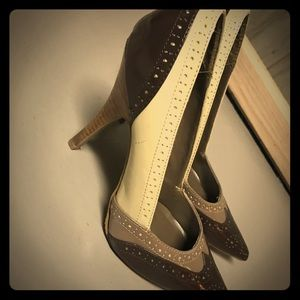 Charlotte Russe size 7 pump heels
